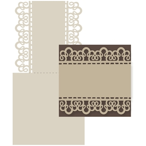 grandma's lace tablecloth double edge