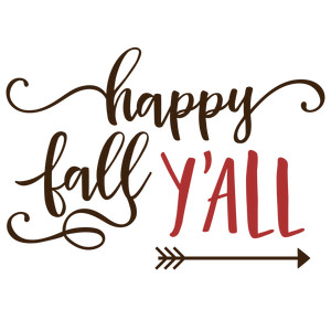 happy fall y'all phrase