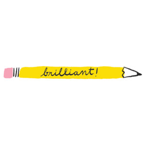 brilliant pencil