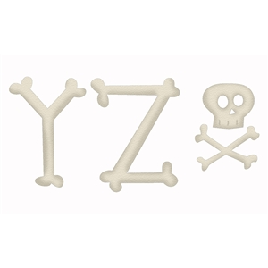 bone alphabet yz