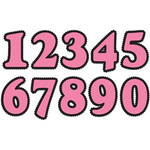 scalloped numbers