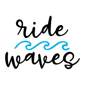 ride waves