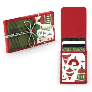 tiered gift card holder