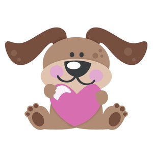 love puppy valentine