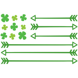 st. patty's flag