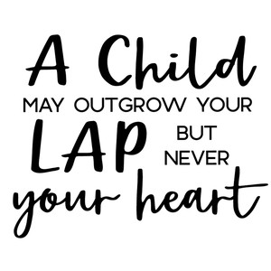 child outgrow lap