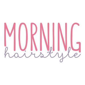 morning hairstyle