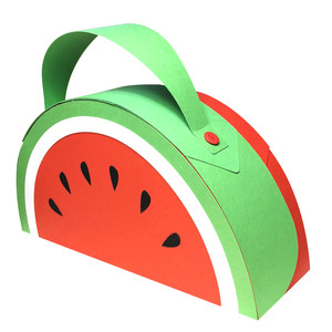 watermelon suitcase