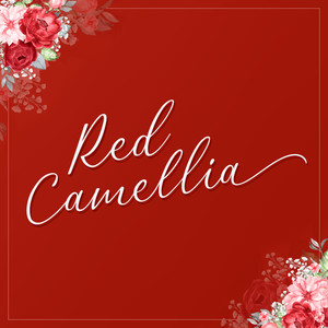 red camellia font