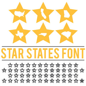 star states font