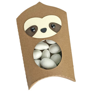 sloth pillow box