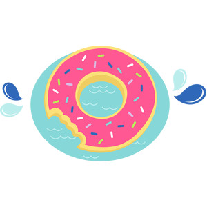 donut pool floaty