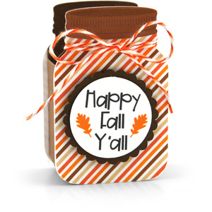 mason jar treat box happy fall y'all