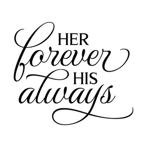 her forever his always