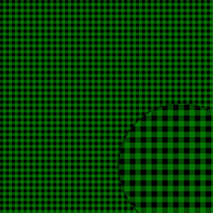 plaid black green pattern