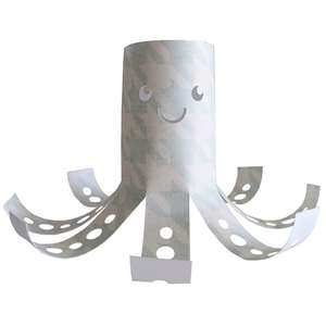 octopus kid craft