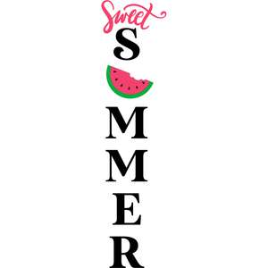 sweet summer watermelon porch sign