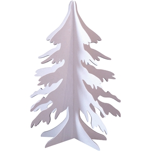 3d winter - snow tree