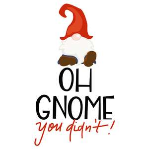 oh gnome you didn't