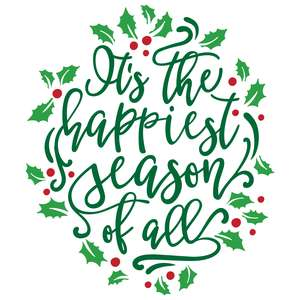 it's the happiest season of all