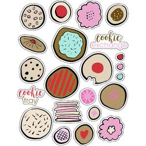 ml christmas cookies stickers