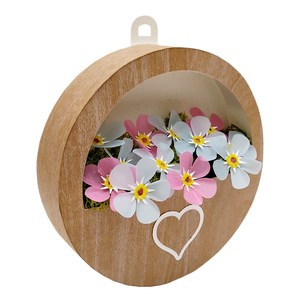 forget-me-not round flower box