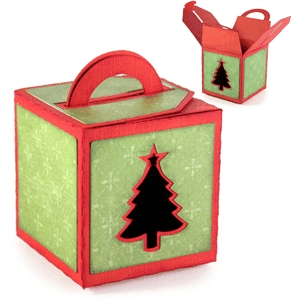 3d handled box - tree