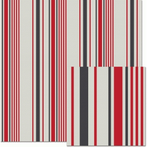 bossington stripe ticking pattern