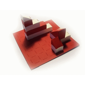 paperbricks foundation board 4x4