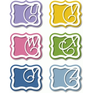 monogram artisan labels u-z