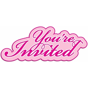 layered phrase you're invited