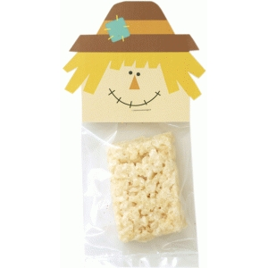 scarecrow treat bag topper