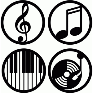 music circle labels