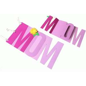 mom mini album/card