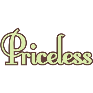 'priceless' word phrase