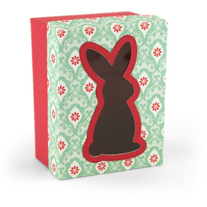 3d easter bunny window box