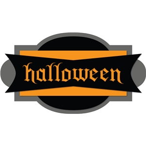 'halloween' phrase label