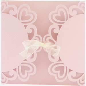 curly hearts gate fold card