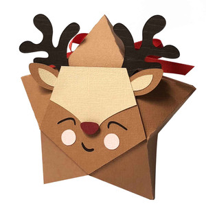 reindeer star box