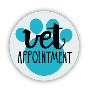 vet appointment printable