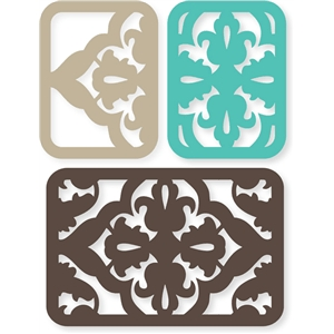 formal flourish cards