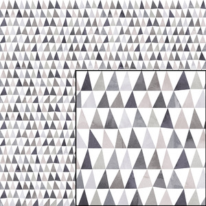 muted triangles geometric pattern