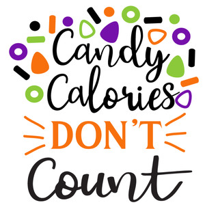 candy calories don't count