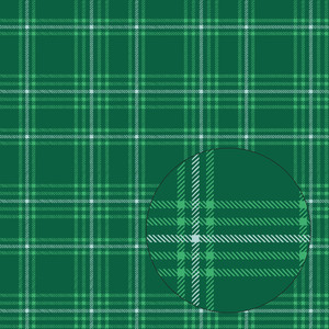 christmas plaid seamless pattern (green)