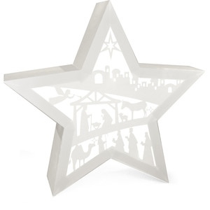 nativity star lightbox centerpiece