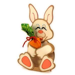 bunny hug 3d candy place card