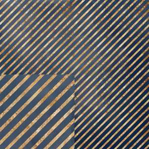 golden and blue stripe pattern