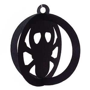 3d halloween ornament