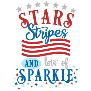 stars stripes lots sparkle