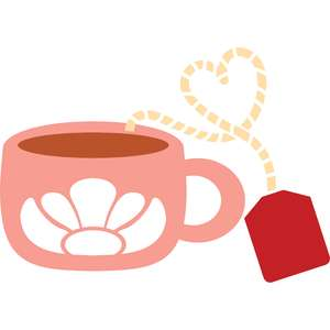 cup of tea and heart